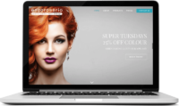 Hair Salon Brochure website in Guildford