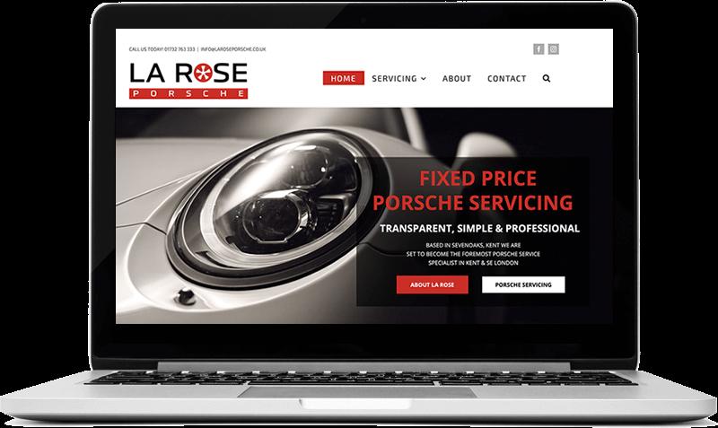 Porsche Servicing La Rose